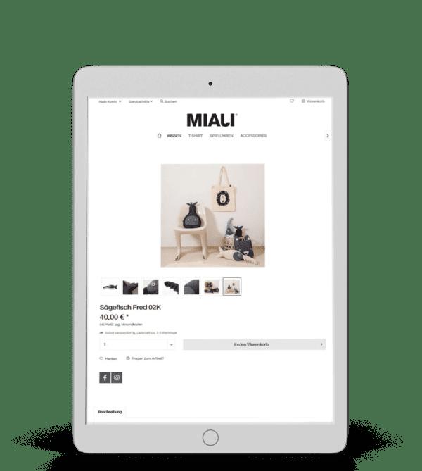 180 Responsive 3D Mockup - Ipad Air 4-Miali